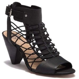 Vince Camuto Evel Leather Caged Sandal